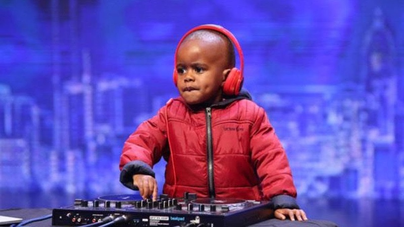 The Most Famous Baby DJ In The World On SA's Got Talent Stage