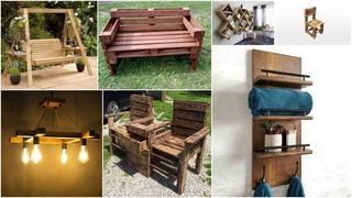 Красивые идеи из деревянных бревен деревенская мебель, садовые украшения, поделки
