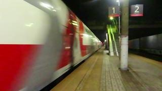 Электровоз ЭП20-069 с поездом№741В Москва-Брянск станция Бекасово-1