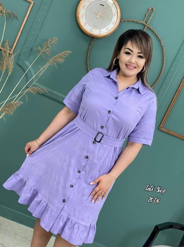 Стильные платья  Размеры 48, 50, 52, 54  Ткань турецкая хб стрейч  Цена упаковкой 4 шт   Рост модели 172 см