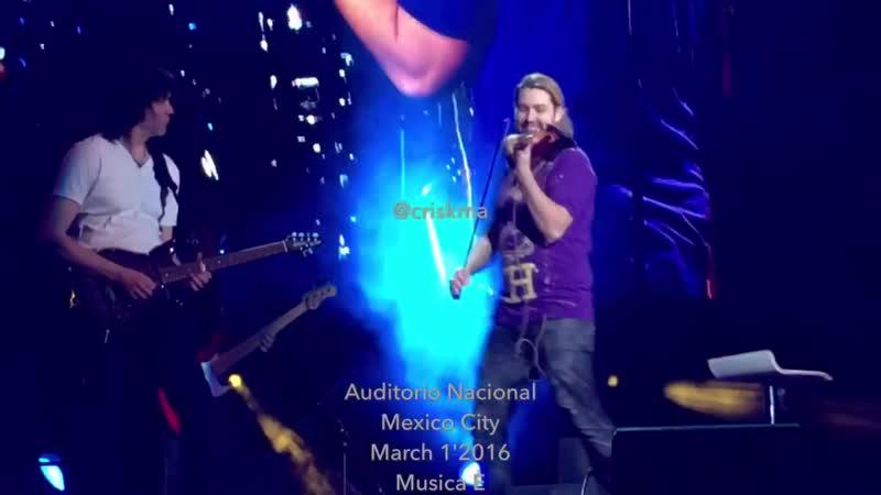 David Garrett Musica È Auditorio Nacional March 12016