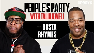 Talib Kweli & Busta Rhymes Talk ELE: 2, J Dilla, Q-Tip, Kendrick, 5% & Chuck D   People's Party Full