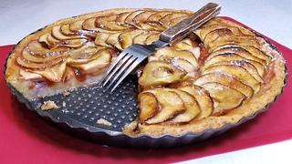 Когда есть сливы и яблоки пеку этот ПИРОГ К ЧАЮ. Даже нелюбители сладкого едят С УДОВОЛЬСТВИЕМ