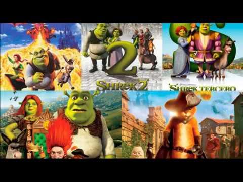 Descargar Shrek: La Saga (2001-2011) 1080p Dual x265 Latino Mega