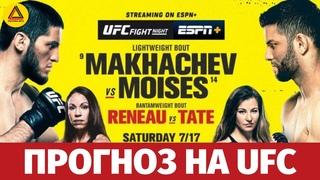 Разбор турнира UFC Fight Night: Makhachev vs. Moisés