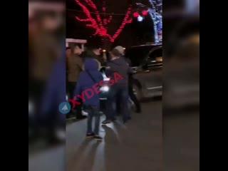 Махач в Одессе
