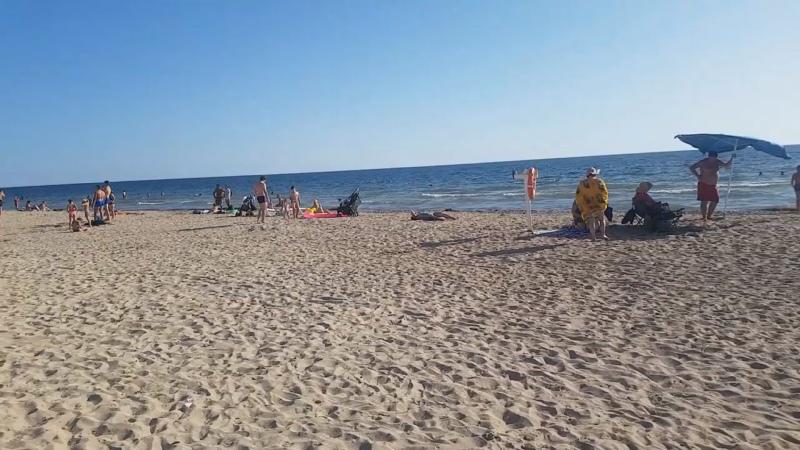 Пляж в Витино.