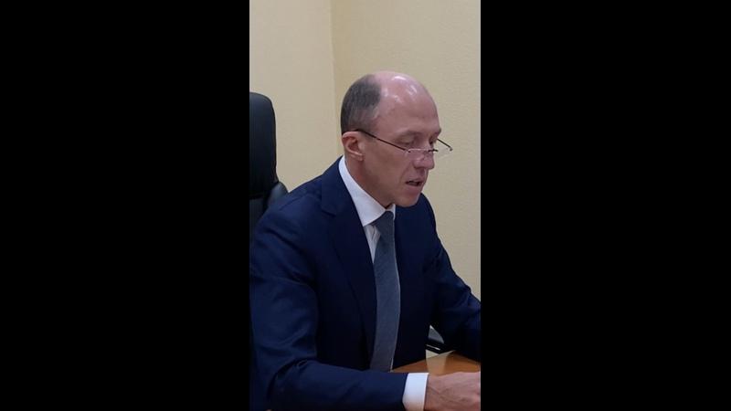 Видео от Олега Хорохордина