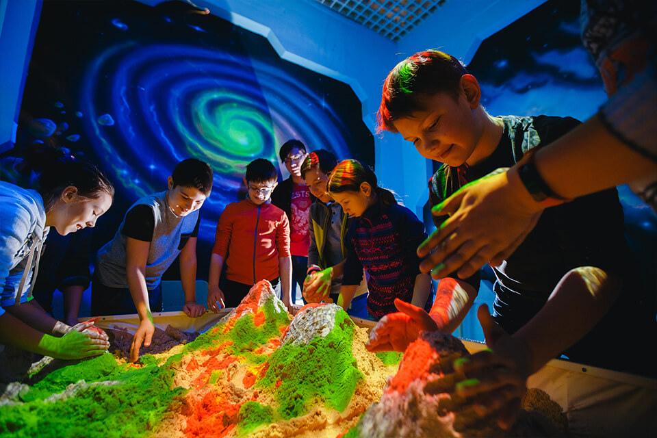 Интерактивная песочница для детей