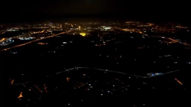 Огни большого города. Москва, сентябрь 2020