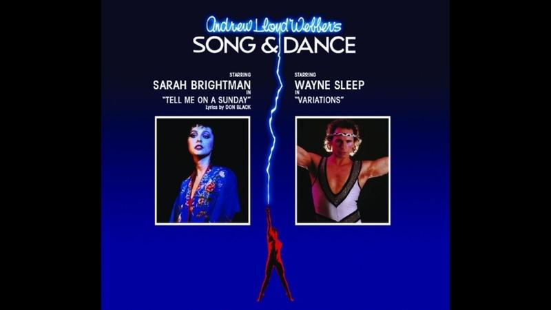 Song Dance Лондон 1982 год