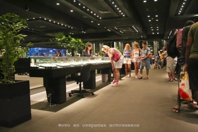 Ювелирная фабрика Gems Gallery в Паттайе фото 2