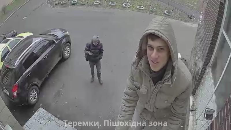 Установил камеру с сиреной чтобы не ссали у дома Киев