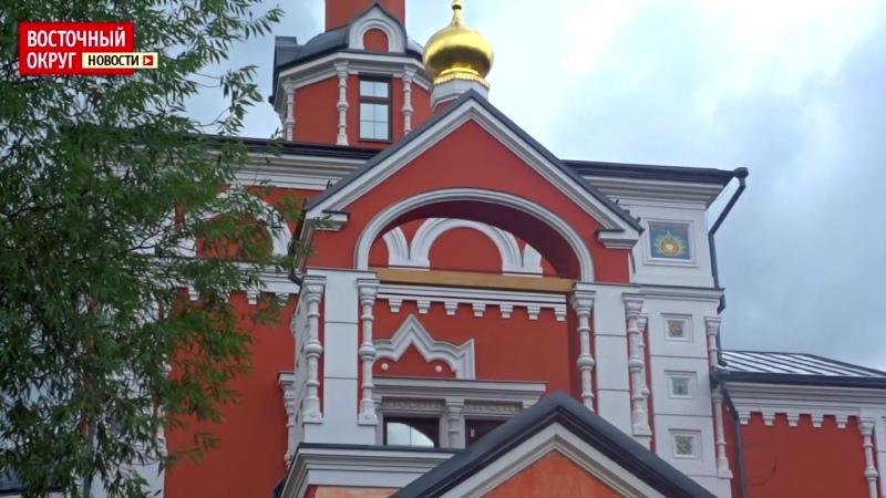 Храм «Споручница грешных» в Косино сдадут в эксплуатацию в ноябре