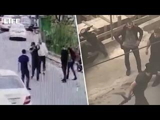 Массовая драка со стрельбой в Сочи