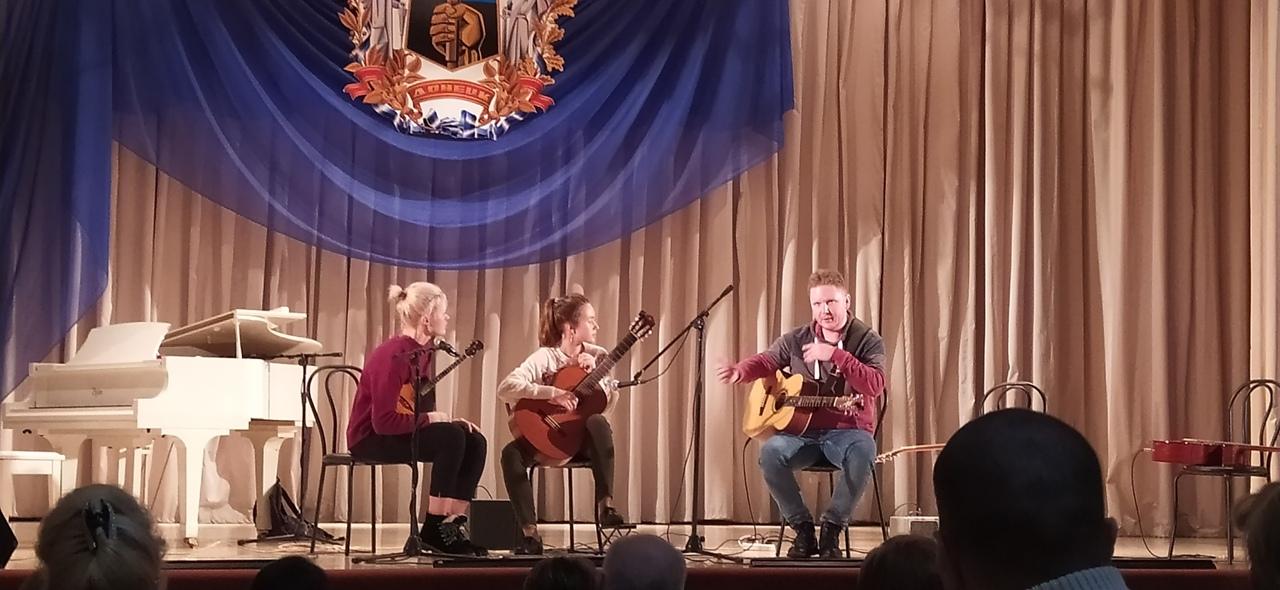 Серию творческих мероприятий конкурса исполнителей на народных инструментах «Славянская душа» продолжили мастер-классы членов жюри