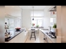Дизайн и планировка узкой кухни