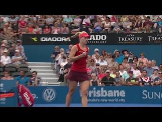 Angelique Kerber v Anastasia Pavlyuchenkova highlights (QF)