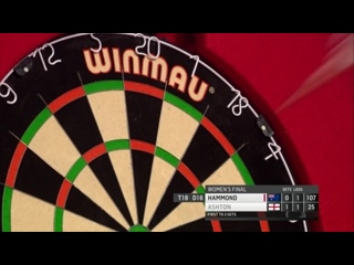 Corrine Hammond vs Lisa Ashton (BDO World Darts Championship 2017 / Final)