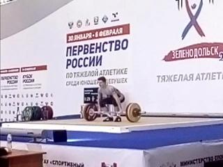 Дмитрий Масленков-01 г/р-кат. 69. толчок-112 кг. г.Зеленодольск  г.