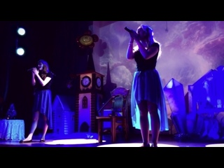 Александра Ряскина & Оля Недосекина - My Heart Will Go On