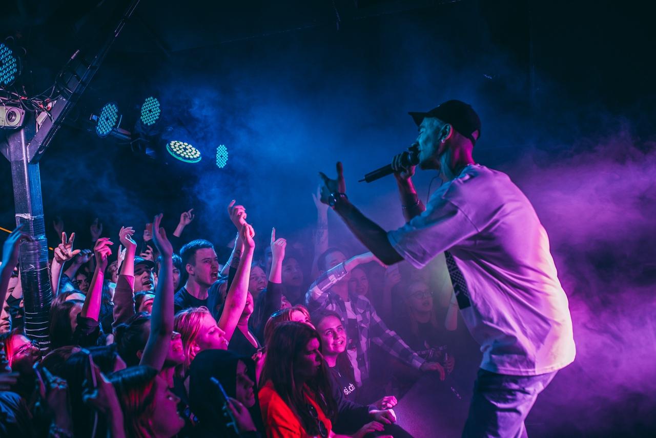 Концерт STED.D в клубе Москва