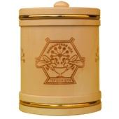 Мед «Туес деревянный с обручами» 0,3 кг