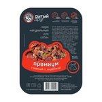 Корм для собак «ПРЕМИУМ» говяжий с индейкой, 500г