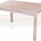 Стол из ЛДСП- Твист-1 МД 08 МД ,молочный дуб