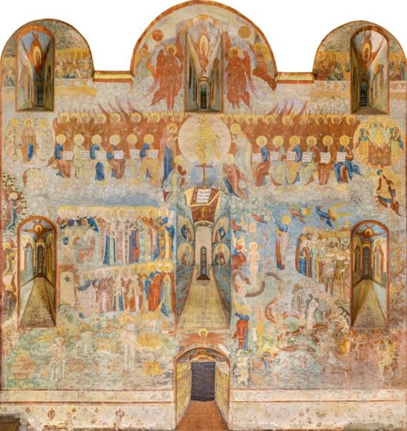 Композиция «Страшный суд» вологодского Софийского собора — самая большая фреска на этот сюжет в России