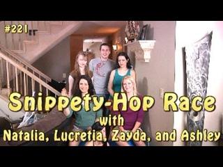 Гонка на Хопперах с Наталией, Лакришей, Зэйдой и Эшли (HD-качество)
