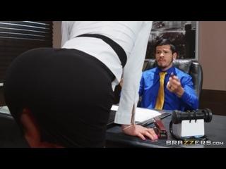 Pornomix / Nicolette Shea - Boss MILF, Big Tits, All Sex, Work Fantasies
