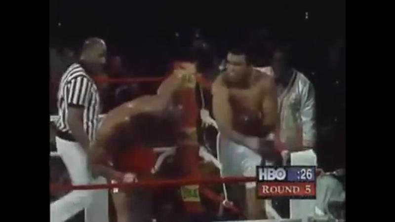 Грохот в джунглях один из самых великих боксёрских поединков XX века Бой между Мохаммедом Али и Джорджем Форманом