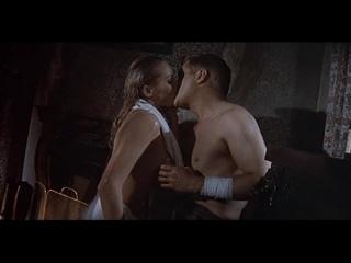 Урсула Андрес (Ursula Andress) - Голубой Макс (1966) HD 720p(эротическая постельная сцена из фильма знаменитость трахается)