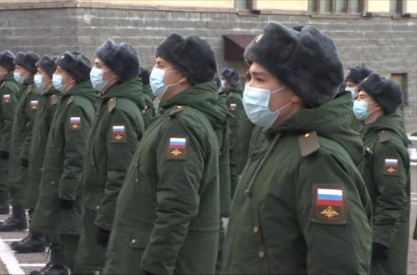 1 декабря состоялась очередная отправка призывников из военн