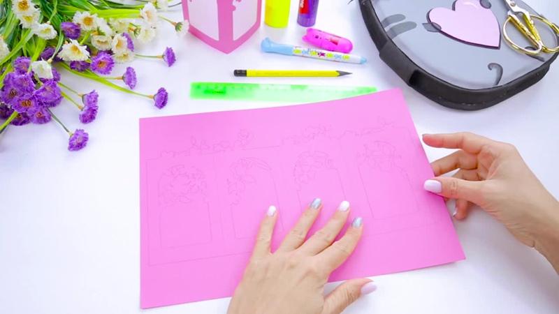 Подарок на День Рождения своими руками из бумаги Как сделать необычный декор на праздник
