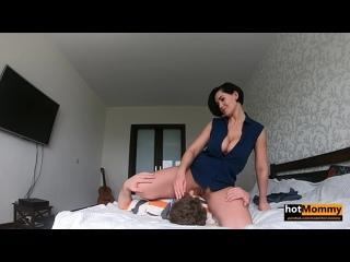 Hot Mommy - pov amateur home sex porn boobs busty milf mature handjob blowjob creampie домашнее мамка секс порно минет сиськи