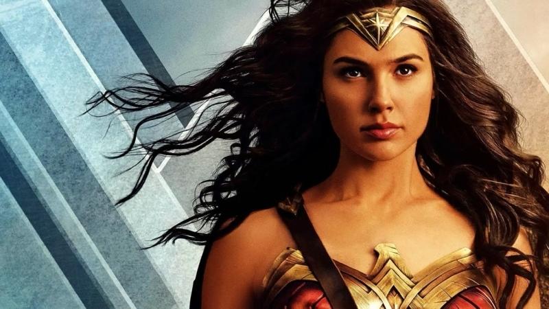 Чудо женщина 1984 Wonder Woman 1984 2020 год Принцесса Амазонка Драка в торговом центре Супермаркет Галь Гадот Gal Gadot