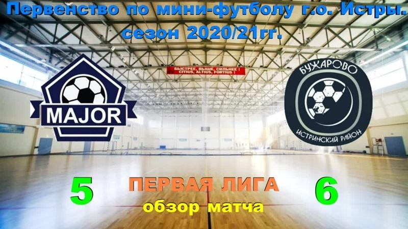 Мэйджор Бужарово обзор матча