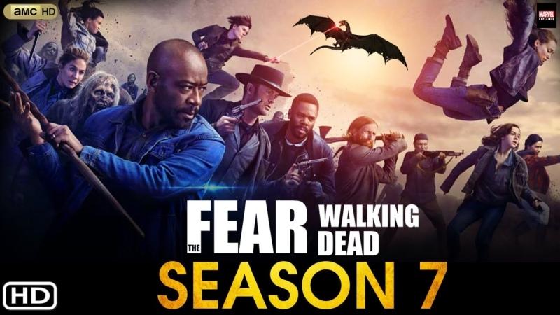 Озвученный трейлер седьмого сезона Бойтесь ходячих мертвецов