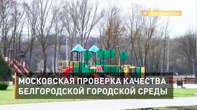 Московская проверка качества белгородской городской среды