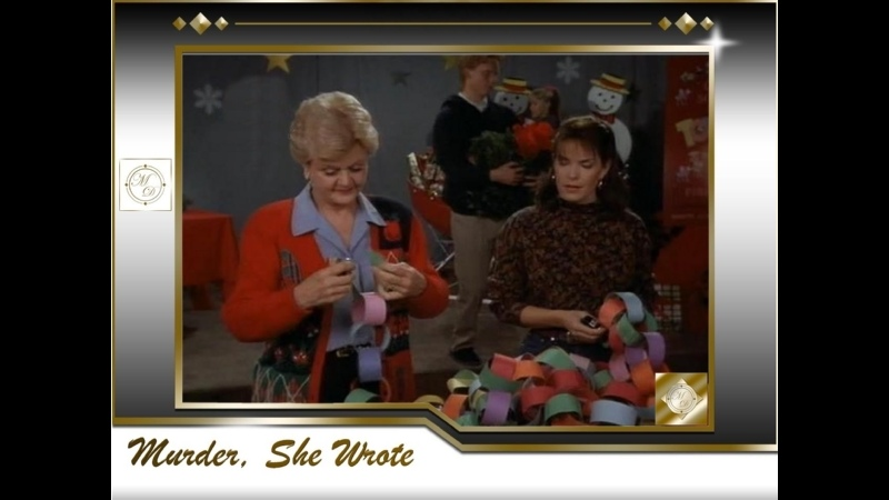 Она написала убийство Рождественский секрет Murder She Wrote 9x09 A Christmas Secret