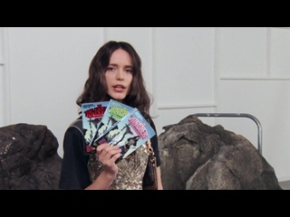 Stacy Martin for the #LVPreFall20 Book Club _ LOUIS VUITTON