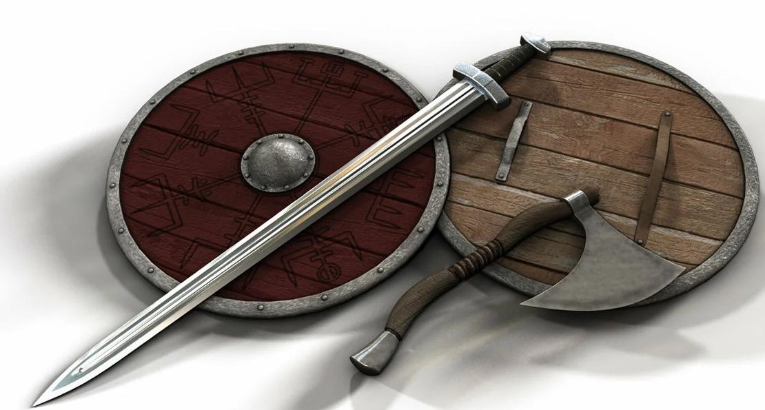 Оружие норманнов