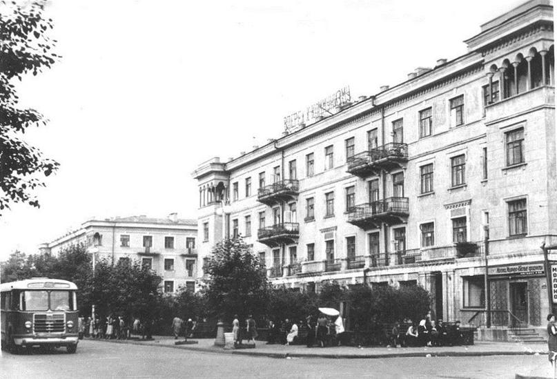 Иркутск в 60-е