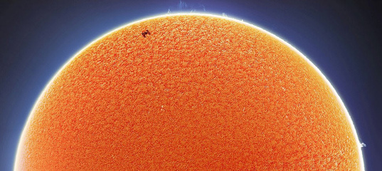 Проход МКС по солнечному диску