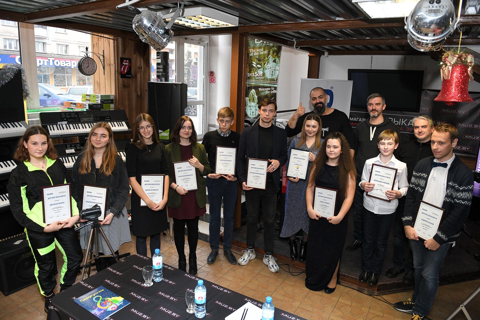 Судьи и финалисты PianoDrive 2019