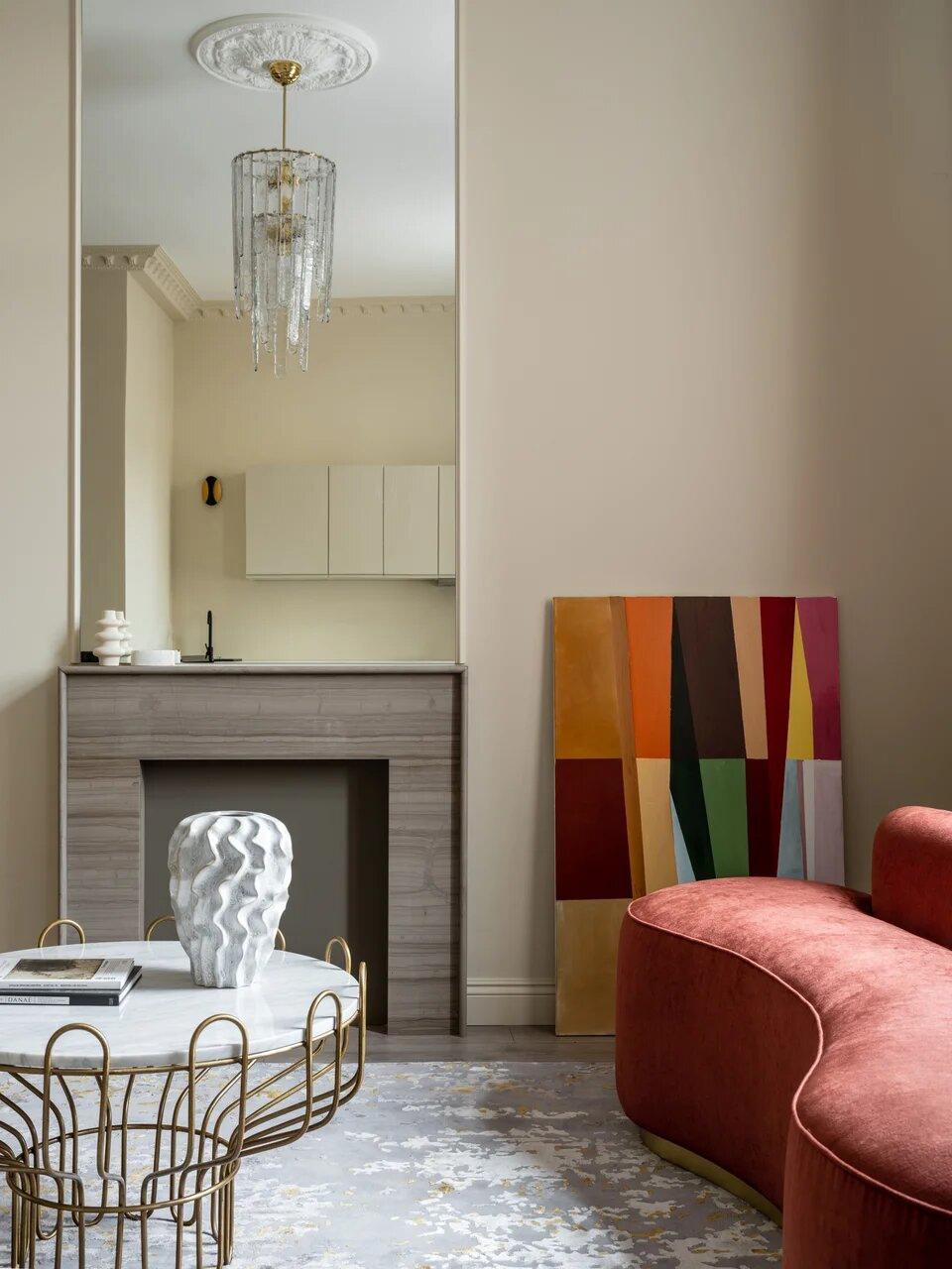Дизайн квартиры-студии 40 кв.