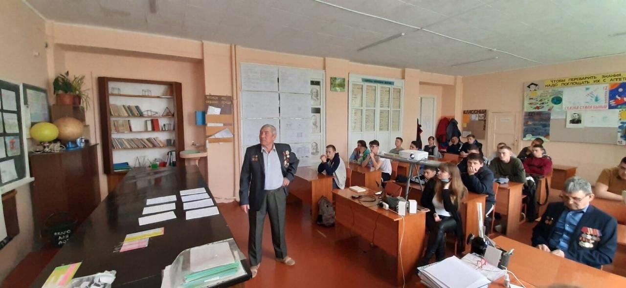 Студенты Петровского агропромышленного лицея встретились ликвидаторами Чернобыльской аварии