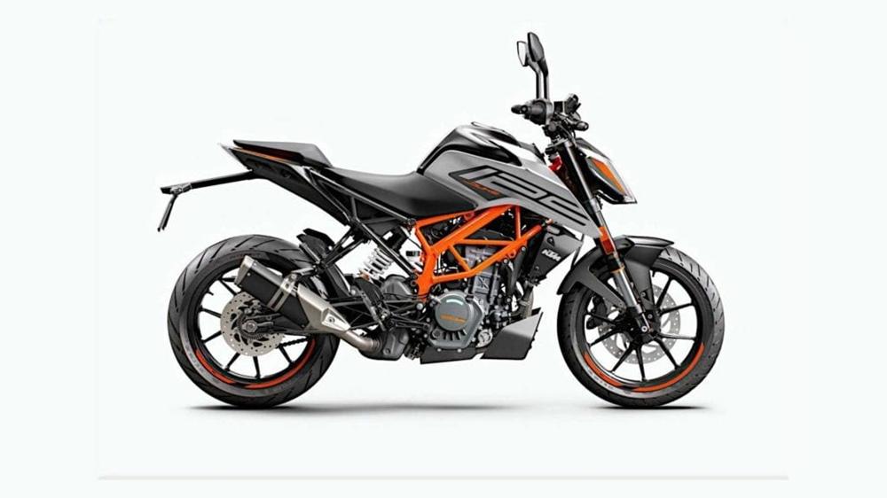Представлены евро5 мотоциклы KTM 125 / 390 Duke 2021